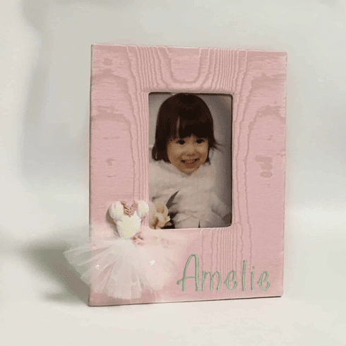 Ballerina Personalized Baby Picture Frame