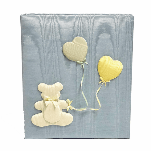 Bear & Balloons Personalized Baby Memory Book