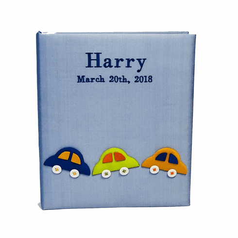 Cars Personalized Baby Memory Book