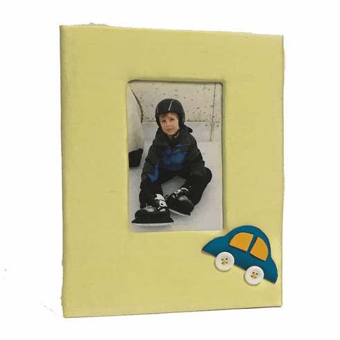 Cars Personalized Baby Picture Frame