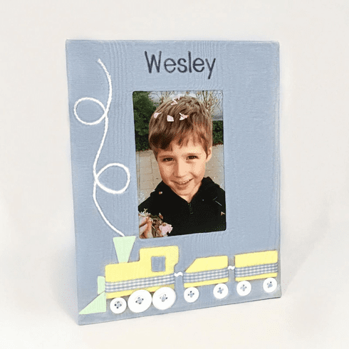 Choo Choo Train Personalized Baby Picture Frame