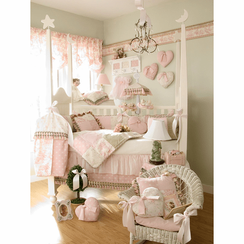 Glenna Jean Baby Bedding Top Sheet - Isabella