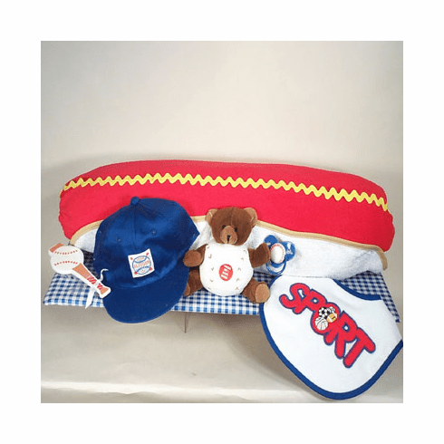 Hot Dog Baby Gift Set