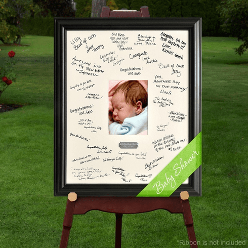 Personalized Baby Signature Frame