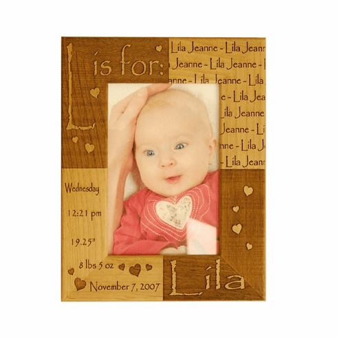 Personalized Birth Certificate Frame