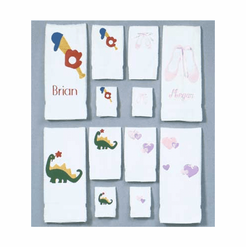 Personalized Child / Infant Bath Towel Set