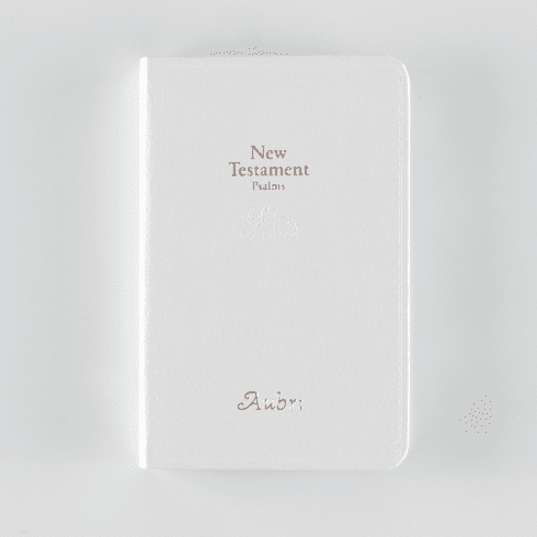 Personalized First Baby Bible