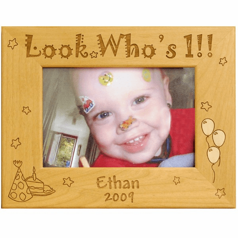 Personalized First Birthday Frame