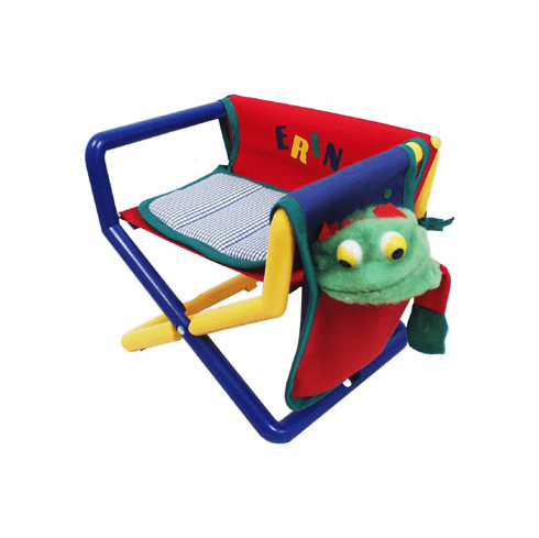 Personalized Hoohobbers Jr. Director's Chair/Booster - Primary (Canvas)