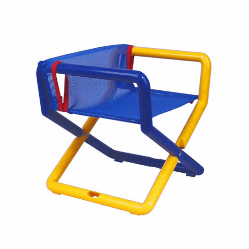 Personalized Hoohobbers Jr. Director's Chair/Booster - Primary (Mesh)