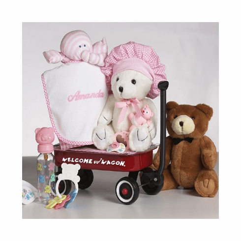 Personalized Welcome Wagon (Girl)