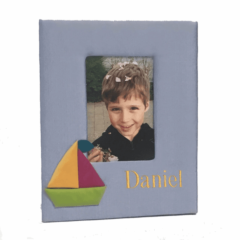 Sailboats Personalized Baby Picture Frame