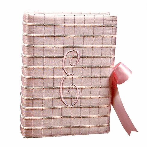 Silk Squares Personalized Baby Photo Album - Small