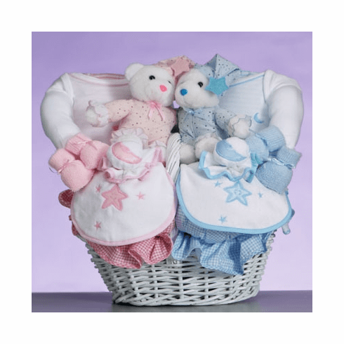Twins Celestial Gift Basket
