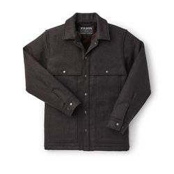 Click to enlarge image of Filson Lined Wool Cape Coat (Men's)