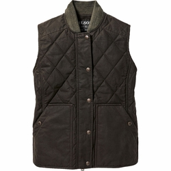 Click to enlarge image of Filson Quilted Field Vest (Women's)