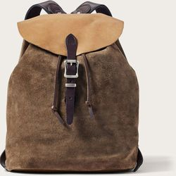 Click to enlarge image of Filson Small Rugged Suede Backpack