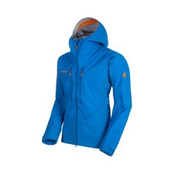 Click to enlarge image of Mammut Eisfeld Guide SO Hooded Jacket (Men's)