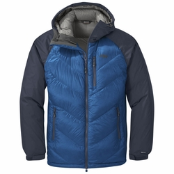 Click to enlarge image of Outdoor Research Alpine Down Hooded Jacket (Men's)