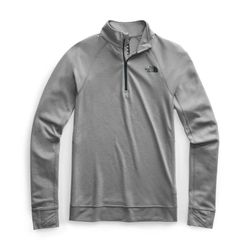 Click to enlarge image of The North Face Warm Wool Blend L/S Zip Neck (Women's)