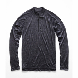 Click to enlarge image of The North Face Wool Baselayer L/S Zip Neck (Men's)