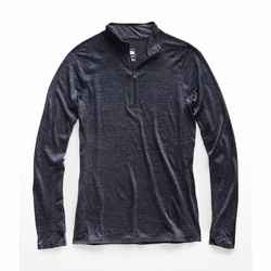 Click to enlarge image of The North Face Wool Baselayer L/S Zip Neck (Women's)