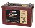 27-AGM Group-27 Trojan Deep-Cycle AGM Batteries