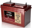 27TMH Group-27 Trojan 12 Volt Deep-Cycle Flooded Batteries