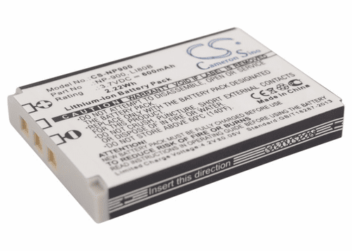 Acer 02491-0015-00, 02491-0037-00, BATS4, NP-900 Digital and Video Camera Battery