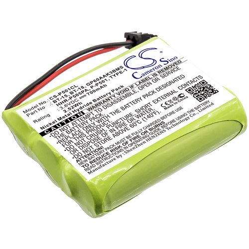 AT&T Cordless Phone Battery For 24032X, 401, 4126, A36, BT24