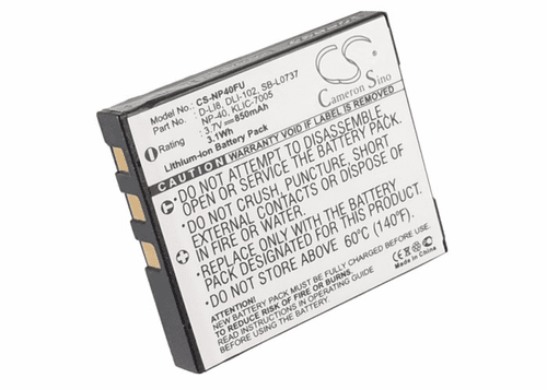 BenQ DLI-102 Digital and Video Camera Battery