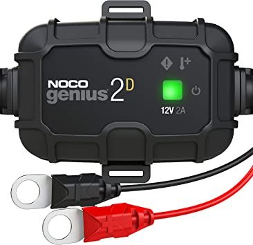 2 Amp Direct-Mount Battery Charger and Maintainer