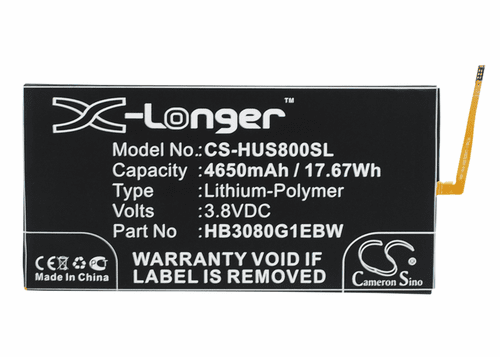 Huawei HB3080G1EBC, HB3080G1EBW Tablet Battery