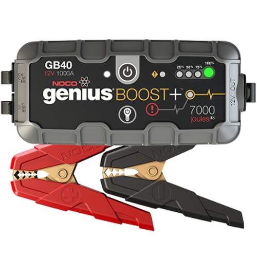 NOCO GENIUS GB40 Plus 1000A Lithium Jump Starter
