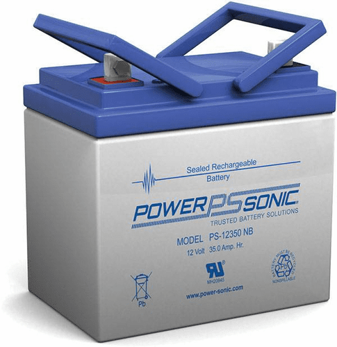 POWER-SONIC PS-12350NB 12-Volt 35-AH