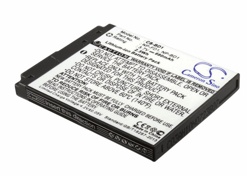 Sony NP-BD1, NP-FD1 Digital and Video Camera Battery