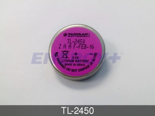 Tadiran TL-2450 Lithium Wafer Cell for Industrial and Memory Applications