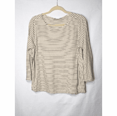 c28ddfee05 black/white stripe panel top