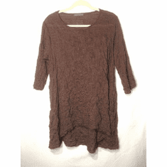 check shirting side pkt tunic