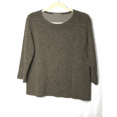 crimped boatneck tee