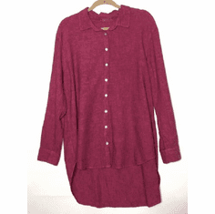crosshatch big shirt