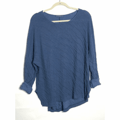 double cloth boxy top