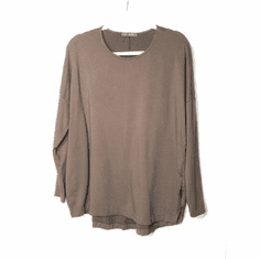 fleece boxy top