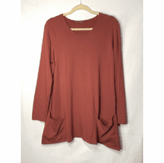 fleece pocket swing top