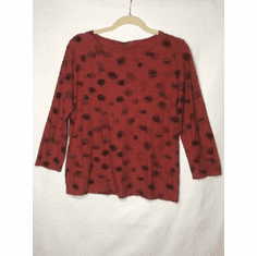 ink spot boatneck top