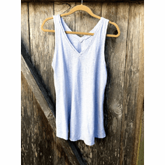 light weight linen cotton tank