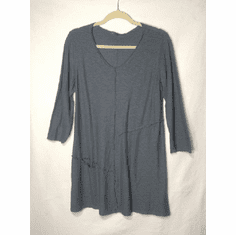 linen cotton patch top