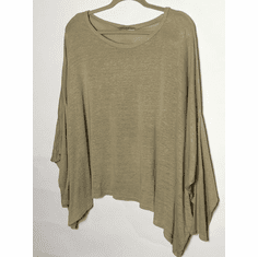 linen sweater oversize shirt