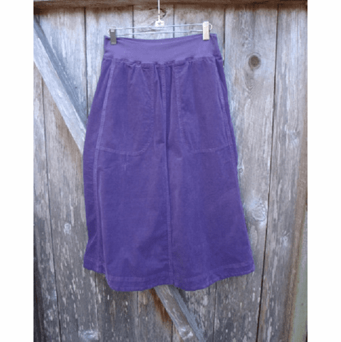 mini cord riding skirt
