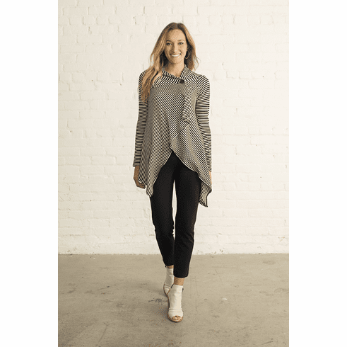 one button sweater wrap